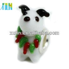 perlas animales de cristal murano para la decoración de pulseras