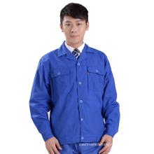 Wholesale Men Workwear Blue Casual Work Uniform
