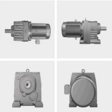 Helical R Series Coaxial Gearbox Geared Motor / Speed ​​Reducer