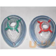Masque médical d'anesthésie en PVC jetable