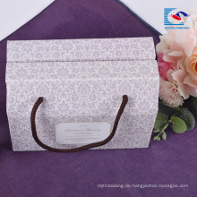 Kundenspezifisches unterschiedliches kreatives einfarbiges Geschenk gewölbte Verpackungspapierkasten