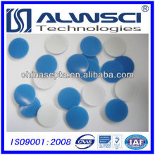 18mm blue slited PTFEsilicone septa