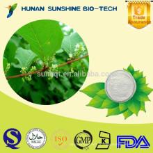 poudre blanche acide chlorogénique 98% Eucommia ulmoides PEkidney tonique