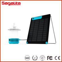 Lampe solaire rechargeable à LED pour éclairage extérieur