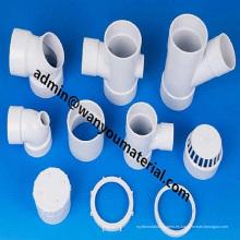 Tubería de PVC y accesorios para suministro de agua e industria-