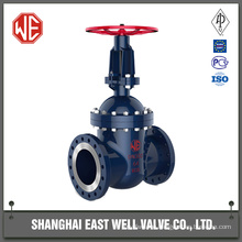 Manual gate valve with iso flange