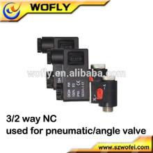 3 Wege 3 / 2way 220V Wechselstrom Magnetventil Luft pneumatisch