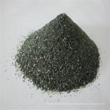 Areia de sílica verde de 1-2 mm para pedra engarrafada