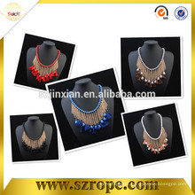 2016 High quality tassels for necklace/ bookmark tassels