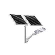 O tipo rachado de alta qualidade 100W estrada ilumina luzes de rua solares integradas do diodo emissor de luz