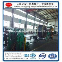 Estándar del ISO de la banda transportadora de goma del borde moldeado