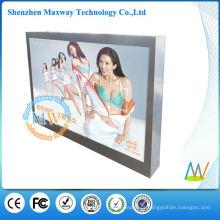 montado na parede comercial 46 polegadas monitor LCD exterior ecrans
