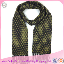 High quality popular printed 100% pure cashmere embroidered pashmina shawl