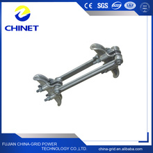 High Quality Twin Conductors Aluminum Alloy Suspension Clamp