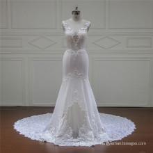 Vestido de novia nupcial sin tirantes