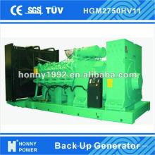 Generador de respaldo de 2MW