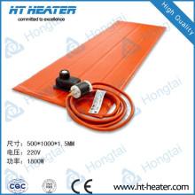 Calentador de caucho de silicona de tubería de 220 V