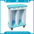 AG-Cht003 Useful Medical Records Trolley