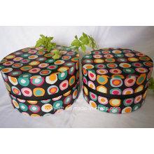 Пользовательские дизайн печатных круглый картон бумаги Hat Box
