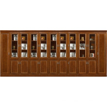 office furniture design antique modular wood filing cabinet with glass doors