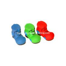 Brinquedo para animais de estimação com sapatos de vinil coloridos