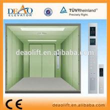 Gegenüberliegende Tür Lastenaufzug mit Maschinenraum