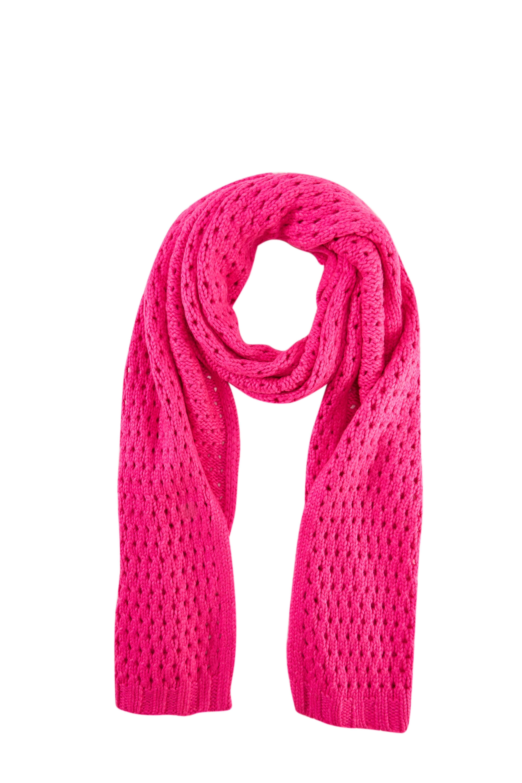 Girls's Fashion Hollow Knit Scarf Winter Warm Scarves