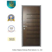 Puerta de seguridad Simplestyle con bolsillo de acero en la puerta (Q-1008)