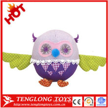 hot sale cute soft plush owl for gifts