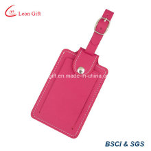 Simple PU Leather Label Luggage Tag for Airport