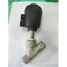 Vanne à siège incliné en plastique actionneur (série RJQ22P)