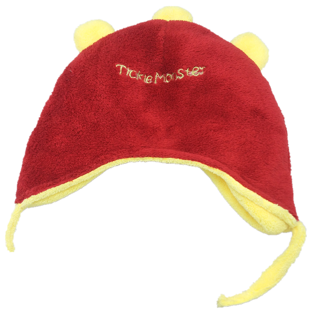 Warm and thick polar fleece hat for kids