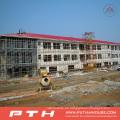 Almacén de estructura de acero de diseño personalizado prefabricado