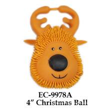 4`` Juguete de la bola de la Navidad
