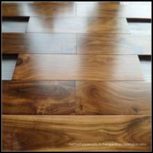 Plancher en bois d'acacia de ménage / plancher en bois