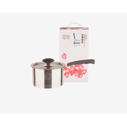 Stainless Steel Cookware Milk Pot With Cover