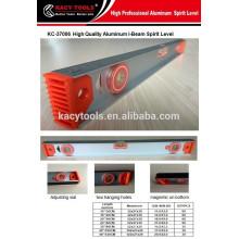 Haute précision I Niveau de faisceau avec bandes magnétiques Cadre renforcé en aluminium I Niveau de faisceau