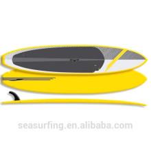 2016 gráfico de moda punt surf sup epoxi modelo de color sólido a la venta