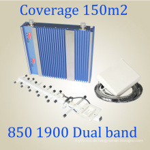 27dBm Dual Band Signal Repeater CDMA PCS 850 / 1900MHz Signal Booster St-Cp27