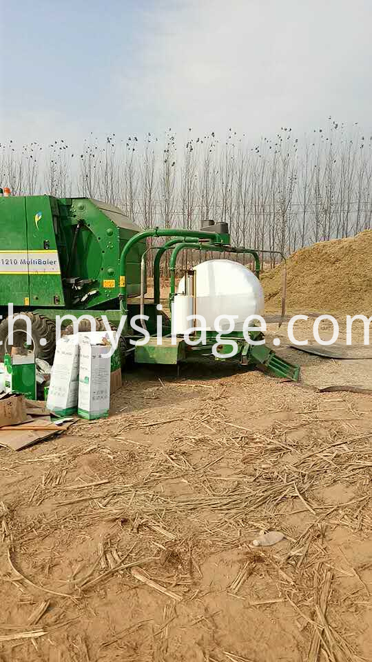 Corn Silage Roll
