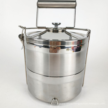 Food Grade Container 304 Stainless Steel Food Warmer Lunch Box