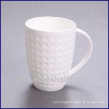 Tasse à café en céramique P & T, tasses à eau