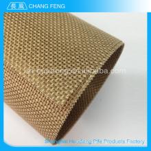 Meistverkaufte Qualität hitzebeständig nicht klebend Ptfe Teflon Förderband mesh-Gürtel