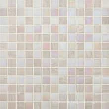 4mm Hotel Dekor Weiß Glas Mosaik