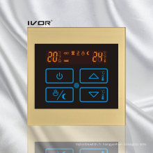 Thermomètre chauffant au sol Radiateur au contact tactile Cadre acrylique (SK-HV100B-M / L)