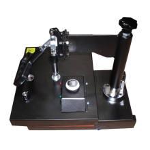 Venta caliente máquina de prensa de calor pequeño para gafas paño