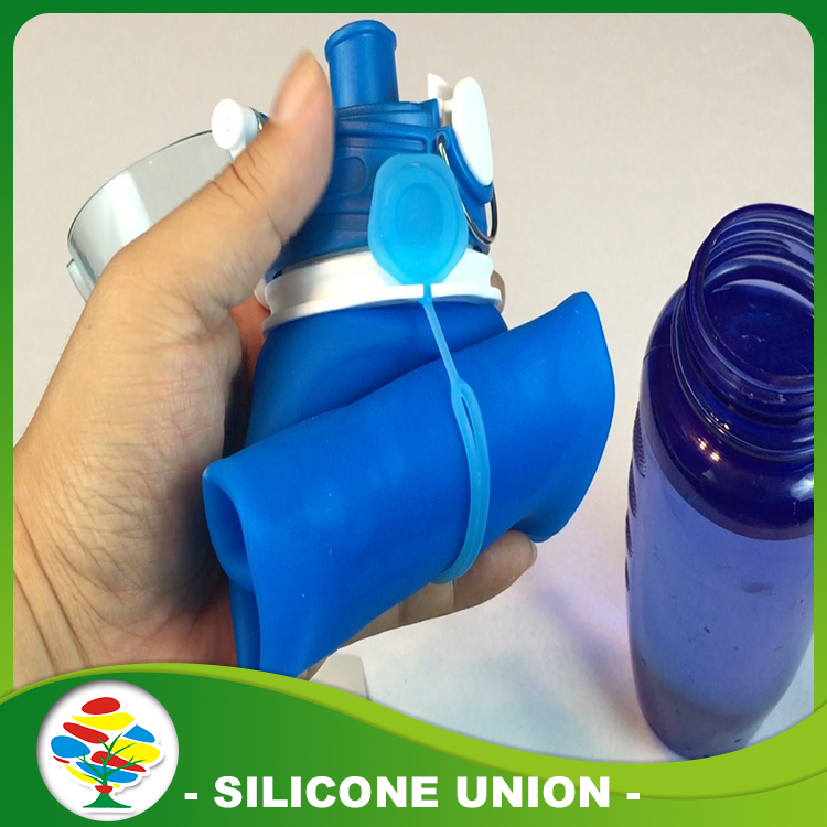 BA silicone water bottle