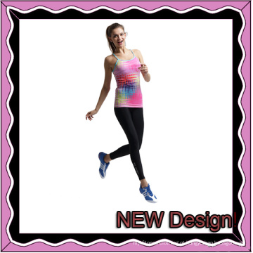 Atacado Custom Spandex Yoga Wear apertado para as mulheres