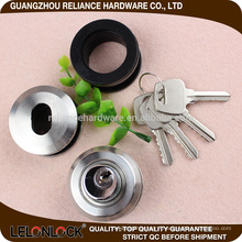 Stainless steel 304 Sliding Glass Door lock with competitive cost