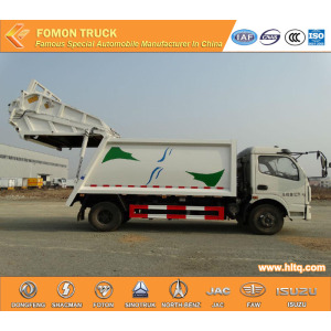 DONGFENG 4x2  compactor garbage truck 6tons